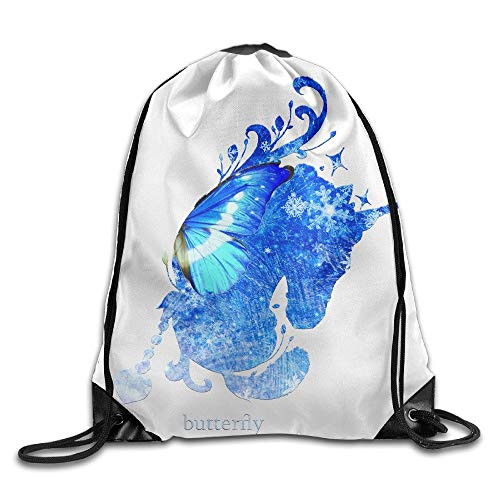 Butterfly Unicorn Drawstring Bags Animal Backpack Shoulder Bags Gym Sport Pack - The North Face Insulated Belt