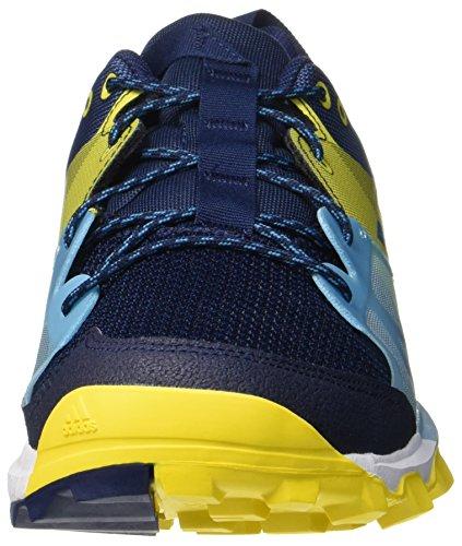 adidas Herren Kanadia 8.1 TR Traillaufschuhe Blau (Collegiate Navy/Mystery Petrol/Eqt Yellow)