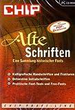 Alte Schriften, CD-ROM Die Sammlung historischer Fonts. Für Windows 9x/ME/NT/2000/XP -