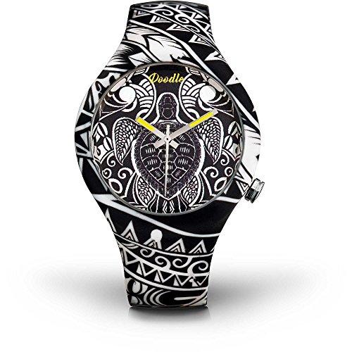 Doodle - Reloj de pulsera unisex Tattoo Mode, Diseño de tortuga