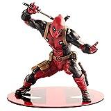 CHANG Deadpool Marvel Statue 18cm Action Figure da Gioco per Bambini Toys,OneSize