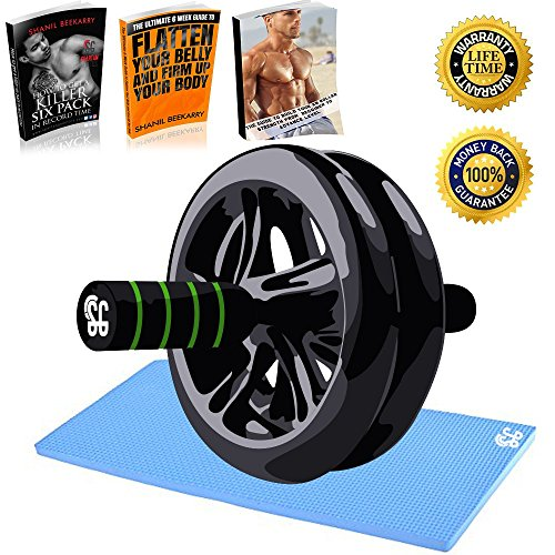 ab-roller-wheel-with-knee-pad-great-for-strengthening-your-core-building-lean-abs-burning-fat-suitab