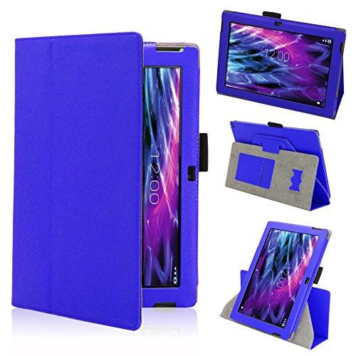 Tasche Hülle für Medion Lifetab S10366 S10365 S10346 Schutzhülle Tablet Cover Case Bag, Farben:Blau