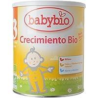Leche Ecológica de crecimiento (12 meses a 3 años), BABYBIO (900gr)