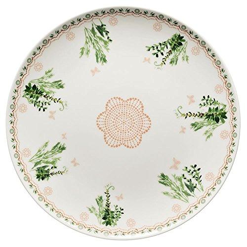 Hutschenreuther 02471-725754-10862 Lots of dots garden Teller flach 22 cm, grün