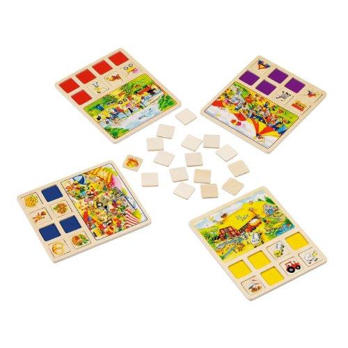 Ereignislotto Lotto für Kinder Spiel Holz 56740 [Spielzeug]