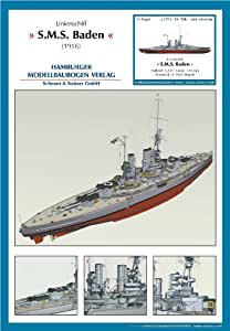 HMV 3030 Papermodel Ship of the Line SMS Baden