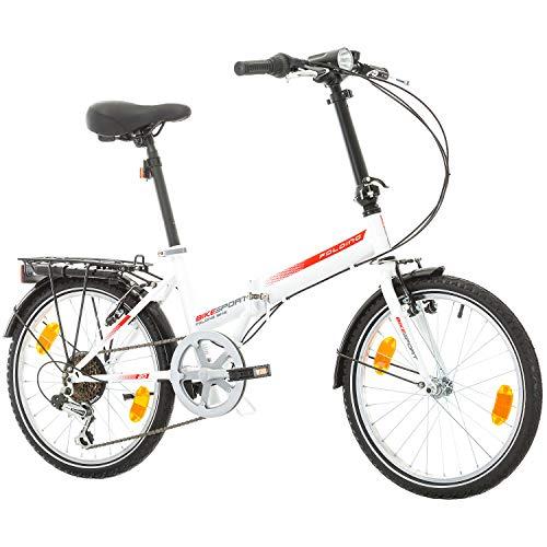 "Bikesport Folding Bicicleta Plegable Ruedas de 20"""
