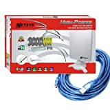 5 metros cable! ADAPTADOR WIFI USB 9000WN 6800mW NETSYS ANTENA PANEL 98dBi 2013 mejor q 6000mw