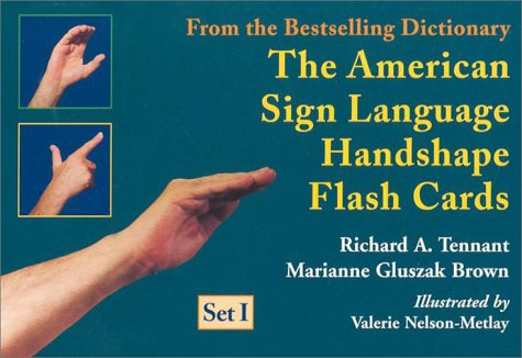 Braille-flash (The American Sign Language Handshape Flash Cards Set I)