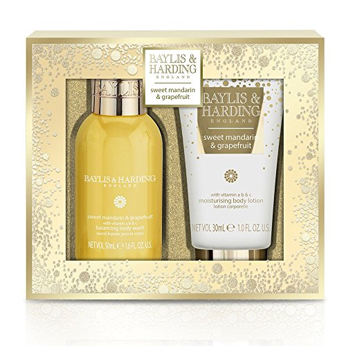Baylis & Harding Sweet Mandarin e pompelmo Duo: 50ml Body Wash 30ml (Pompelmo Duo)