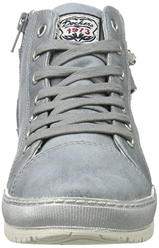 Dockers by Gerli Damen 35ne212-636 High-Top Blau (hellblau 610)