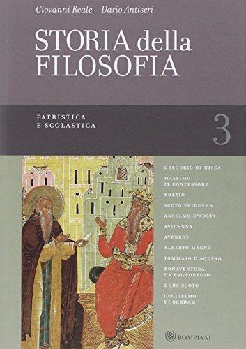 Storia della filosofia dalle origini a oggi: 3