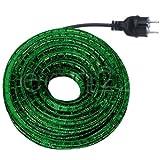 Lichtschlauch Set 9m grün