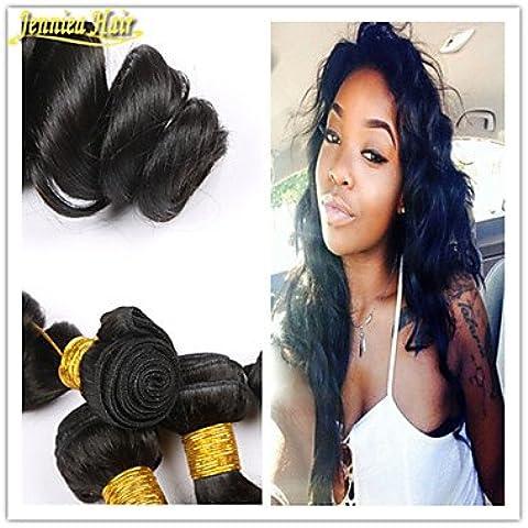 OOFAY JF® 3pcs / lot 8a brasiliana dei capelli dell'onda allentata tessuto dei prodotti 100% estensioni dei capelli capelli umani di trama 1b mossi , 8 10 12