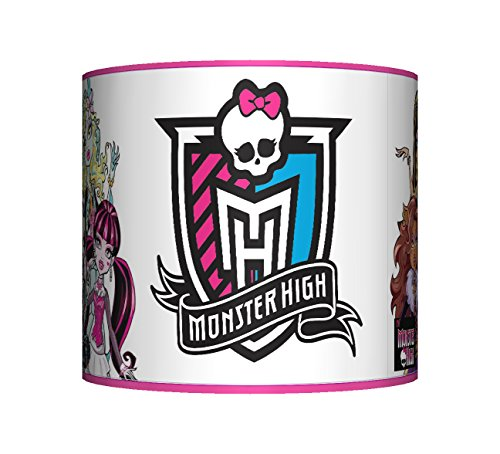 "Image of MONSTER HIGH (PINK) - LAMPSHADE - 10"" DRUM - GIRLS BEDROOM LAMP SHADE"