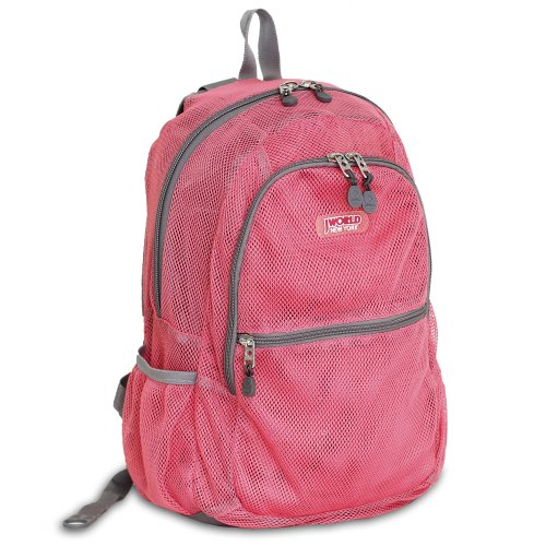 j-world-new-york-mesh-backpack-pink-one-size