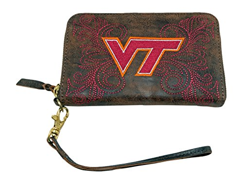 Gameday Stiefel Damen Virginia Tech Wristlet, Messing, 8x 5x 1/2