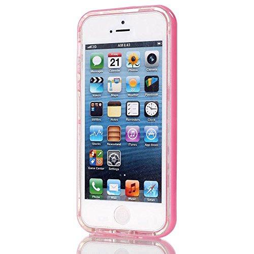 MOONCASE iPhone 6S Coque, IMD Gel Souple TPU Case Fleur Motif Cover pour iPhone 6 / 6S (4.7 inch) Transparente Housse Antidérapant en Silicone Avec Absorption de Chocs [Feather Pattern] White Wind chimes