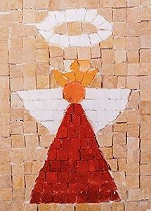 Trois petits points Juego de Tres pequeños Puntos de Mosaico Completo de ángel Maxi, 6192459600550, Universal