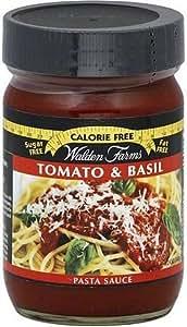 Walden Farms Zero Calorie Pasta Sauce Tomato & Basil 360 grams by Walden Farms