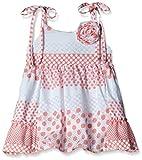 Little Kangaroos Baby Girls' Dress (11823_Fawn_9 months)