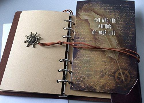 Smiling Wisdom - Set de regalo para niña, niño, adolescente, adulto, con texto en inglés You are the Author of Your Life