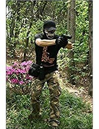 Generic Outdoor Jungle Hiking Cycling Bike Camping Fanny Waist Pack Pouch Hip Belt Bag Tactical Pocket (Black)
