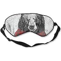 Eye Mask Eyeshade Drawn Grizzly Bear Sleep Mask Blindfold Eyepatch Adjustable Head Strap preisvergleich bei billige-tabletten.eu