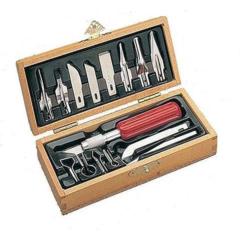 X-Acto X5175 - Caja de accesorios para tallado en madera