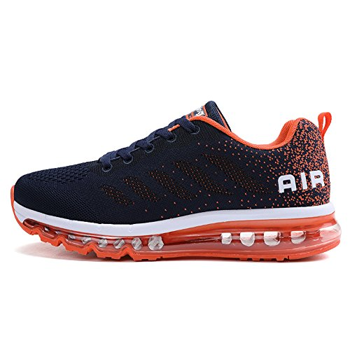 Unisex Herren Damen Sneakers Sportschuhe Bequeme Laufschuhe Schnürer Air Running Shoes 35-45(OR39)