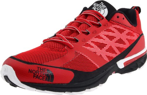 The North Face Single Hayasa T0A03YKZ4, Scarpe da trail running uomo Rosso (Rot (Tnf Red/Tnf White))