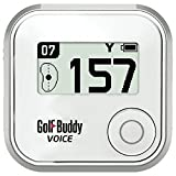 Golf Buddy Voice Plus GPS Range Finder White Audio Distance by Golf Buddy