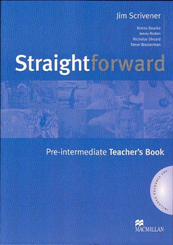 Free Straightforward Pre Intermediate Teacher S Book And