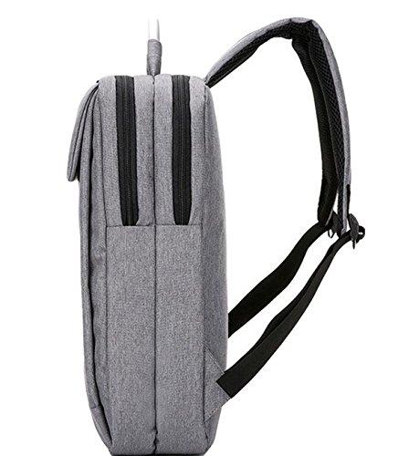 Business-Tasche Schultertasche Rucksack Tasche Tasche Tasche Computer Tasche Freizeit Einfache Wilde Atmosphäre Black