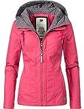 Ragwear Damen Jacke Outdoorjacke YM-Paloma Raspberry Gr. S