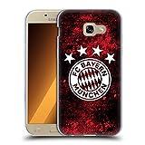 Head Case Designs Offizielle FC Bayern Munich Verzweifelt 2017/18 Muster Soft Gel Hülle für Samsung Galaxy A5 (2017)
