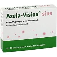 Azela-vision sine 0,5 mg/ml Augentropfen i.einzeld 10X0.3 ml preisvergleich bei billige-tabletten.eu