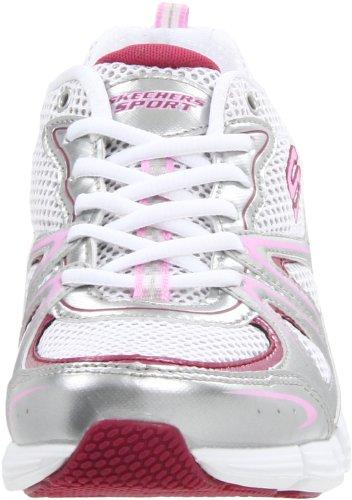 Skechers StrideIn Control 11637 SLPK, Baskets mode femme Argent-TR-SW19