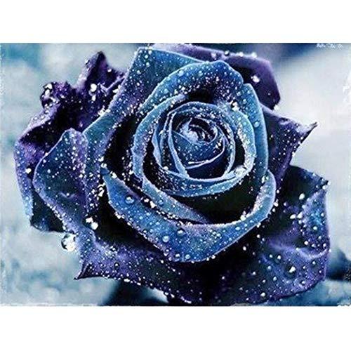 Diamant Malerei, Blume DIY 5D Diamant Stickerei Malerei Kreuzstich für die Familie. Spaßgeschenke...