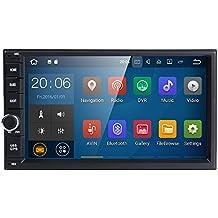 Universale 2DIN auto radio GPS Navigation Hizpo 17,8cm touchscreen Android 7.1OS 2GB RAM in dash lettore multimediale WiFi BT sostegno DAB +/TV digitale/OBD2/DVR/TPMS/4G rete