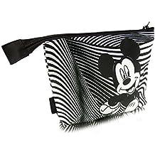 c85d6071b Disney Mickey Mouse FUNNY COLLECTION bolso cosmético del maquillaje  organizador del caso de tocador y almacenaje