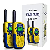 Tisy Long Range Walkie Talkies for Kids 38B - Best Gifts PMR446MHz 8 Channels