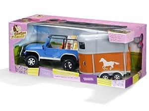 GeeGee Friends - 27751 - Figurine - Animaux - 4x4 Jeep + Van