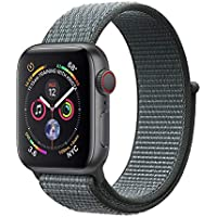 Corki für Apple Watch Armband 38mm 40mm 42mm 44mm, Weiches Nylon Ersatz Uhrenarmband für iWatch Apple Watch Series 4, Series 3, Series 2, Series 1