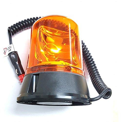 Gyrophare 12/V Rouge avec Base magn/étique Signal Lampe Party Lampe Clignotante