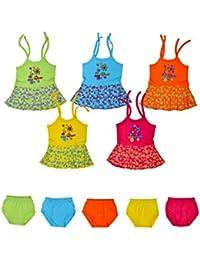 dd231ca01 Multicoloured Baby Girls' Dresses: Buy Multicoloured Baby Girls ...
