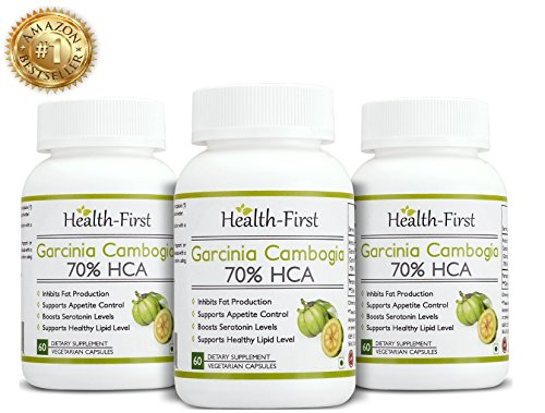 Health First 0738676534382 Pure Garcinia Cambogia Max Extract 70 Hca