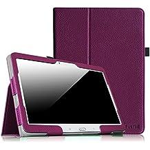 Coque Samsung Galaxy Tab 4 10.1 Étui Housse - Fintie Folio Slim-Fit étui Coque Case Cover avec support et Fonction Sommeil/Réveil Automatique pour Tablette Samsung Galaxy Tab 4 10.1 SM-T530 SM-T535 (10.1 Pouces), Pourpre