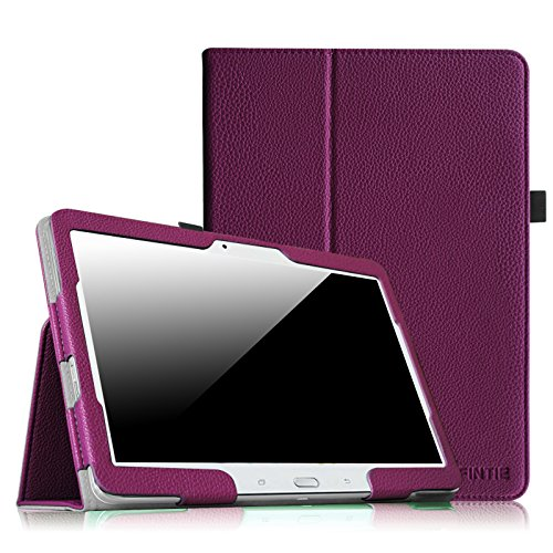 galaxy tab t530 Fintie Samsung Galaxy Tab 4 10.1 Hülle Case - Slim Fit Folio Kunstleder Schutzhülle Cover Tasche für Samsung Galaxy Tab 4 10.1 SM-T530 SM-T535 Tablet (mit Auto Schlaf/Wach Funktion), Lila